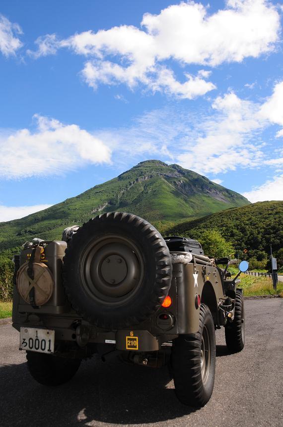 1羅臼岳とM38.jpg