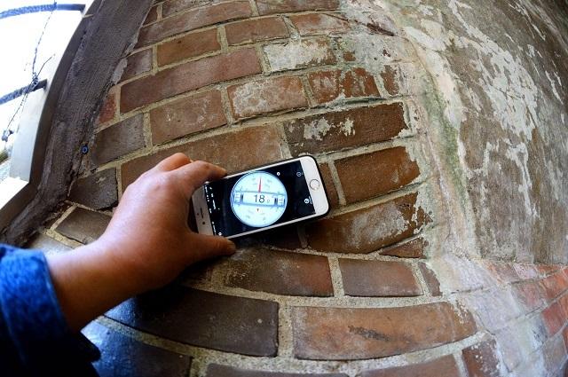 134右翼観測所連絡隧道出口斜架拱角度.jpg
